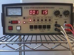 chiropractic electrical stimulation machine