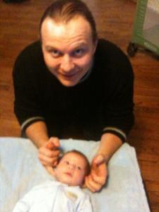 Infant Chiropractic Adjustment