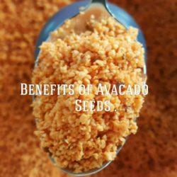 benefits of avocado seeds